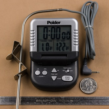 Polder Digital In Oven Thermometer