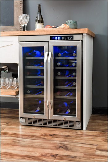 EdgeStar 36 Bottle Built-In Dual Zone