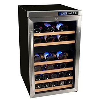 Edgestar CWF340DZ Wine Cooler - 34 Bottle