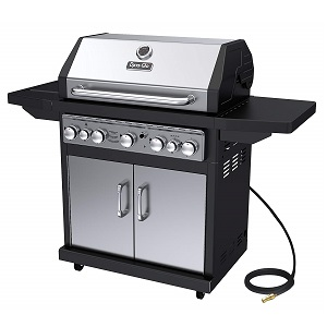 Dyna Glo Black Stainless Premium Grill