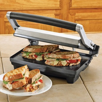 Breville BSG520XL Panini Duo 1500-Watt Non-Stick Panini Press
