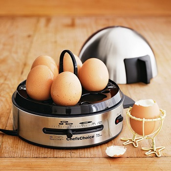 Chef's Choice International Gourmet Egg Cooker 810