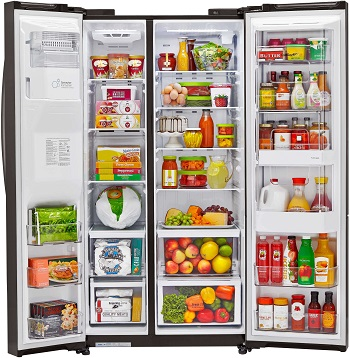 LG LSXC22386S Side by Side Refrigerator