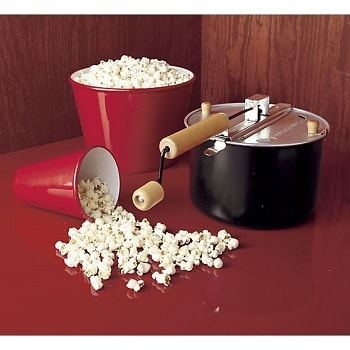 how to cook popcorn on an electric stove