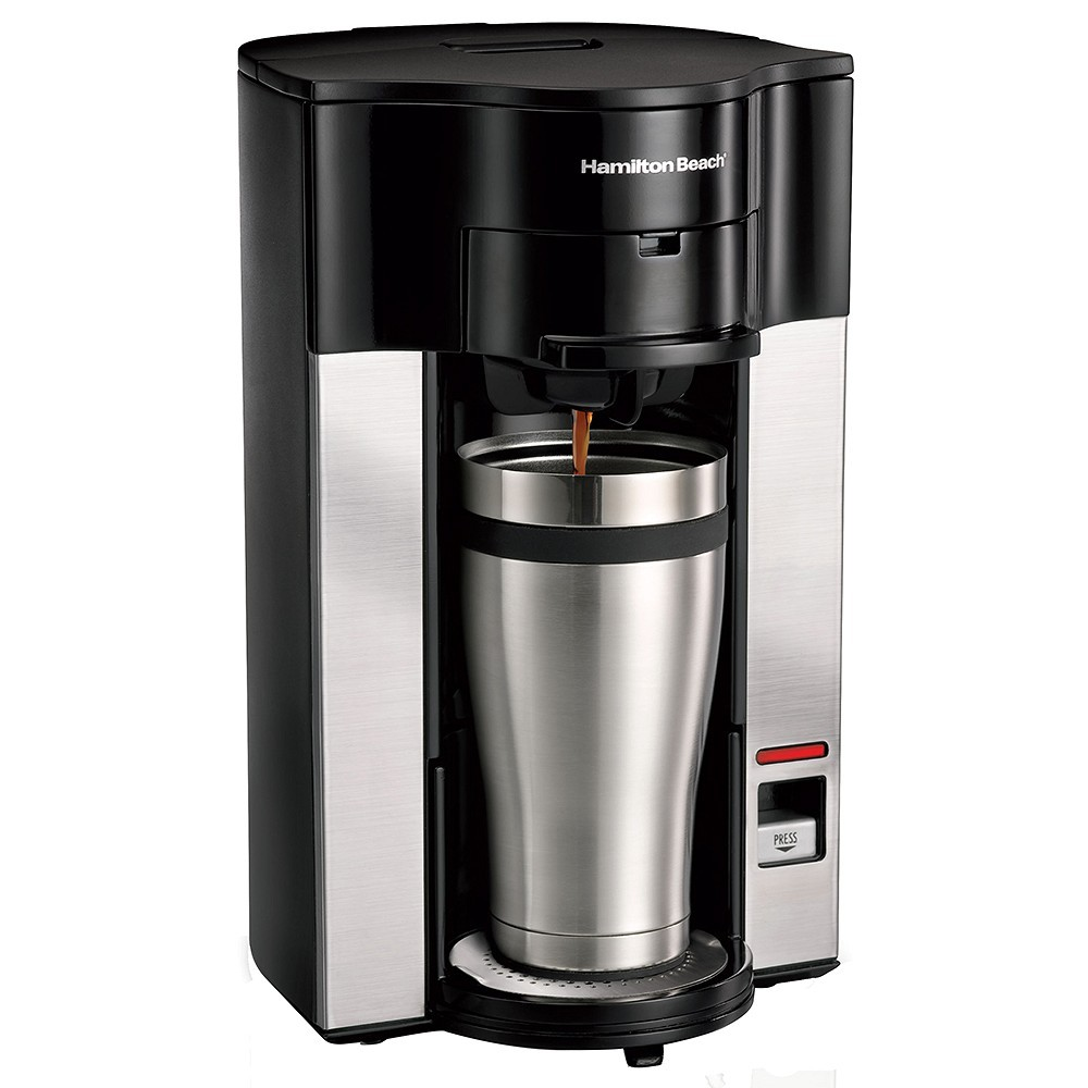 Hamilton Beach Stay or Go Single Cup Coffee Maker