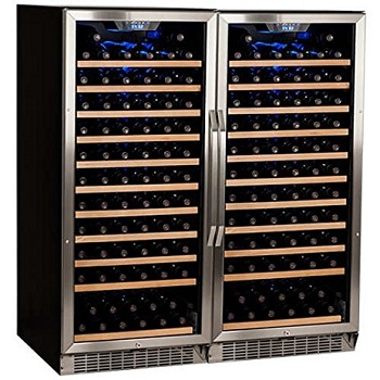 Edgestar 26 Bottle + 80 Can Side-by-Side