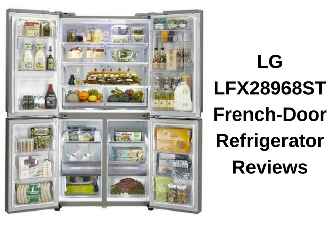 Lg Lfx28968st French Door Refrigerator Reviews